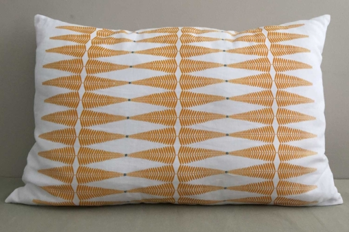 mrslovegood morna linen hand embroidered cushions ocre1
