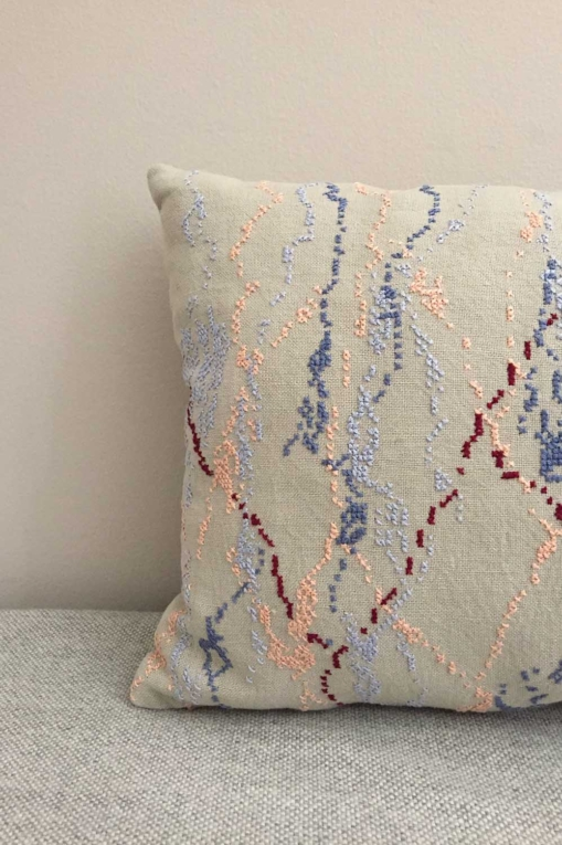 mrslovegood philipa hand embroidered linen cushions cornflower blue1