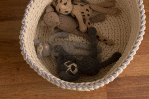 mrslovegood handmade cotton sally baskets cornflower blue1